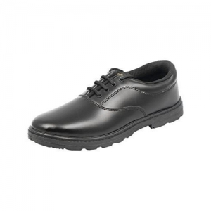 Lakhani Boys Black School Shoes