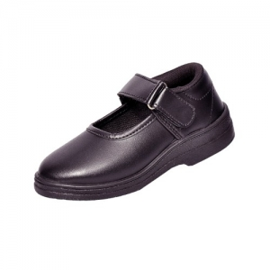 Lakhani Girls Black School Shoe