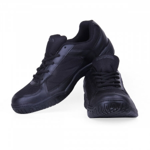 Nivia Mesh with laces Shoes - Black