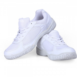 Nivia Mesh with laces Shoes - White
