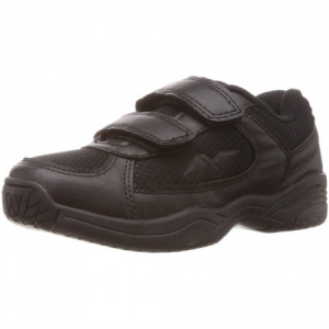 Nivia Mesh with Velcro Jr Shoes - Black