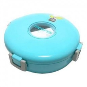Tedeme Round Lnch Bx-01-Blue 1 Containers Lunch Box