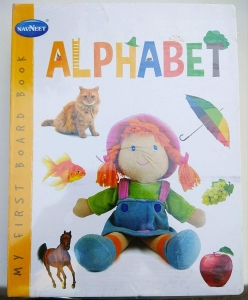 MY FIRST BOARD BOOK ALPHABET