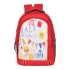DUSSLE DORF Polyester 15 L Red Kids School Backpack