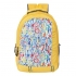 DUSSLE DORF Polyester 15 L School Backpack for Kids (Yellow)